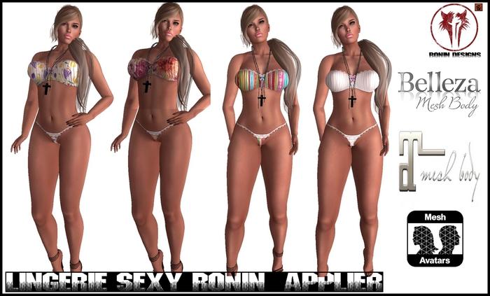 Lingerie Sexy Ronin Applier - Belleza / Maitreya