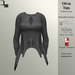 DE Designs - Olivia Top - Grey Fabric