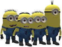AL39 - 4 avatars minions pack 1