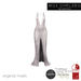 .miss chelsea. Cara Gown White CLEARANCE