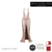 .miss chelsea. Cara Gown Nude CLEARANCE