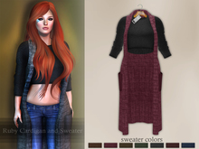 Bens Boutique - Ruby Cardigan and Sweater Magenta