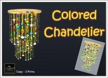 Zinner Gallery - Colored Chandelier