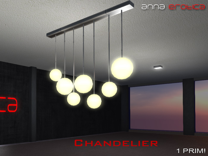 Anna Erotica - Chandelier - Auto On/Off - 1 Prim!
