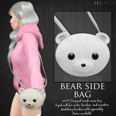 [ abrasive ] Bear Side Bag - Polar