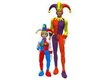 AL39 - complete avatars: joker & jester
