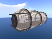 Skyboxes for steampunk fun .: EM :. Steampunk Skyview Skybox (15 prims)