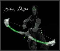 BOW/arco Fantasy SET: green Giada