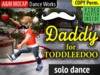 A&M MOCAP - Daddy dance for Toddleedoo BABY (copy) - solo dance animation :: PSY dance routine