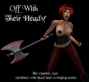 .:-CatniP-:. Off with their heads!! Axe