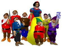 AL39 - Avatars Snow White and the 7 Dwarfs
