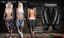 B BOS -Nig Baggy-Jeans Black-