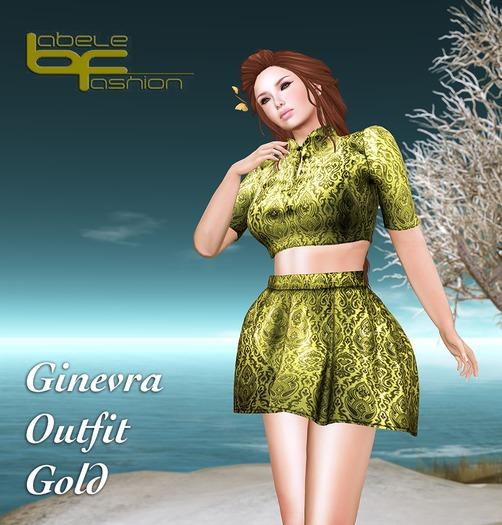 Babele Fashion :: Ginevra Outfit Gold