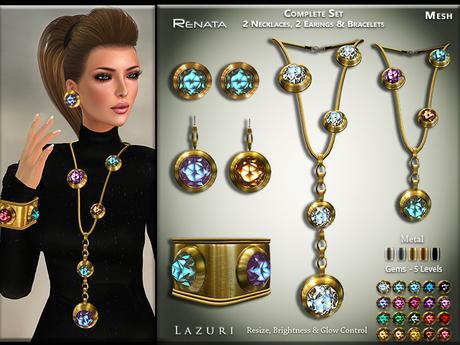 [< Lazuri >] Renata Complete Set - MESH