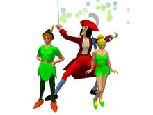 AL39 - complete avatars: Crochet, Peter, Clochette