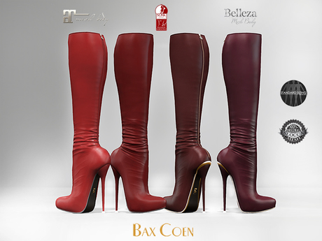 BAX Prestige 2 Boots Red Leather