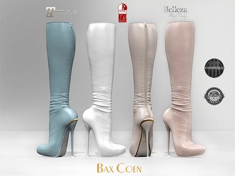 BAX Prestige 2 Boots White/Bright Leather