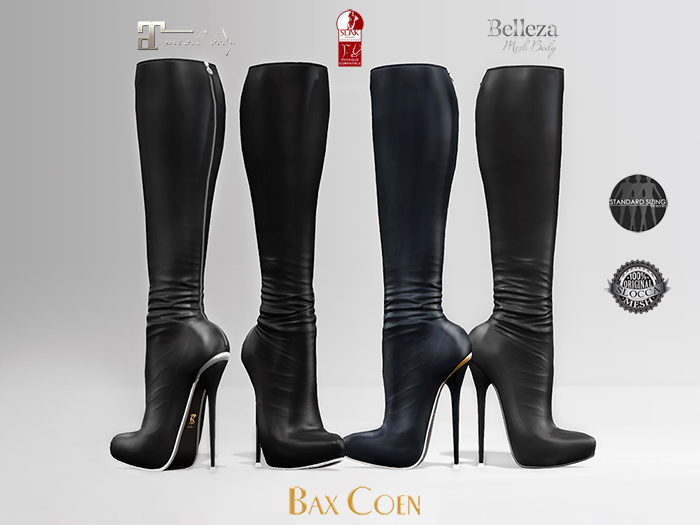 BAX Prestige 2 Boots Black Leather