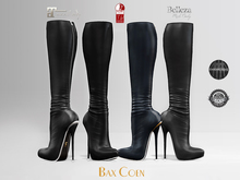 BAX Prestige 2 Boots Black Leather