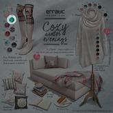 GACHA SPARES: Erratic - Eva Holiday Socks - Green Reindeer