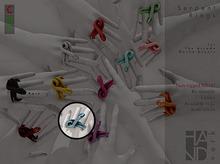 GACHA SPARES: HANDverk - Serpent Ring - Indigo
