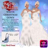 RSC WHITE CHRISTMAS GOWN