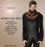 Asteria Full Perm - Male Fur Scarf  - DEMO
