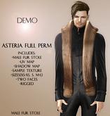 Asteria Full Perm - Male Stole Fur - DEMO
