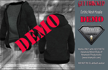 Gothic Hoodie for Aesthetic Body - DEMO