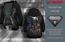Gothic Hoodie for Aesthetic Body - Liberty Eagle