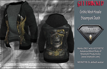Gothic Hoodie for Aesthetic Body - Steampunk Death