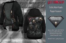 Gothic Hoodie for Aesthetic Body - Reaper Assassin