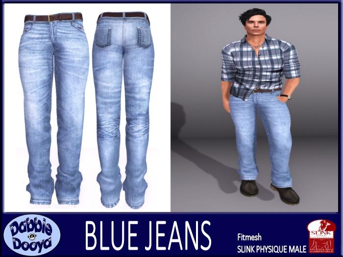 [DD] Mens SLink Fitted Jeans-Carolina