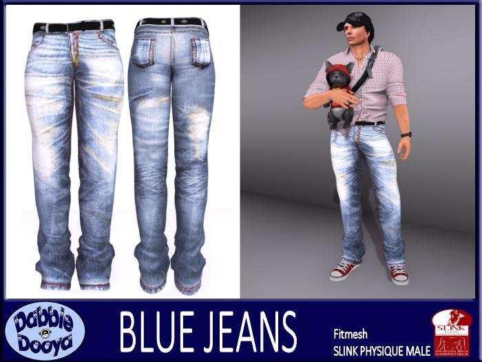 [DD] Mens SLink Fitted Jeans-Sulphur Wash