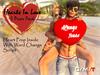 """""""Killer's""""  Hearts In Love! 5 Poses Pack"""