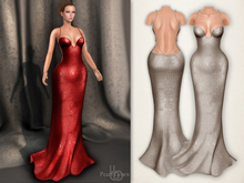 Bens Boutique - Pearl Gown Cream