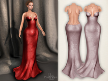 Bens Boutique - Pearl Gown Lpink