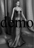 Bens Boutique - Pearl Gown Demo