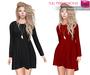 CLASSIC RIG 5 SIZES | Full Perm Mesh Long Sleeve Shift Dress