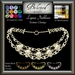 Beloved Jewelry : Lynna Necklace (Texture Change) Choice of Silver, Platinum, Gold, 12 Gems, Amethyst, Ruby