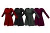 Long sleeve shift dress 1