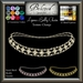 Beloved Jewelry : Lynna Belly Hip Chain (Texture Change) Silver, Platinum, Gold, 12 Gems, Amethyst, Sapphire