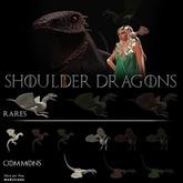 22769 ~ [accessories] Shoulder Dragon #4 [green] [rare]