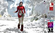 {B}EVA WINTER - RED [Wear Me To UnPack]