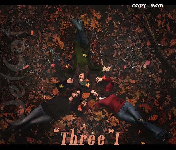 "::WetCat:: ""Three"" I (""autumn warmth"" set)"