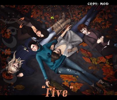 "::WetCat:: ""Five"" (""autumn warmth"" set)"
