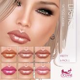Oceane - Pretty Lipsticks 6-Pack 1 [Classic]