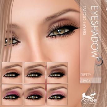 Oceane - Pretty Eyeshadows 6-Pack 1 [classic]