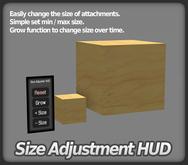 Size Adjustment HUD