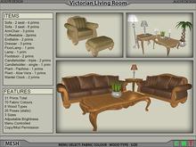 Victorian Living Room Set (14 piece) [AUGYR DESIGN] [MESH]